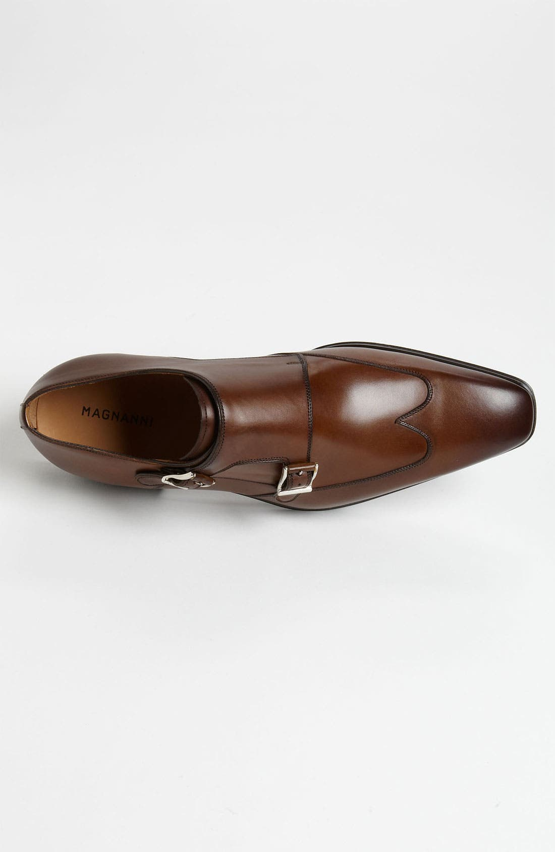 Alternate Image 3  - Magnanni 'Claudio' Double Monk Strap Wingtip Slip-On