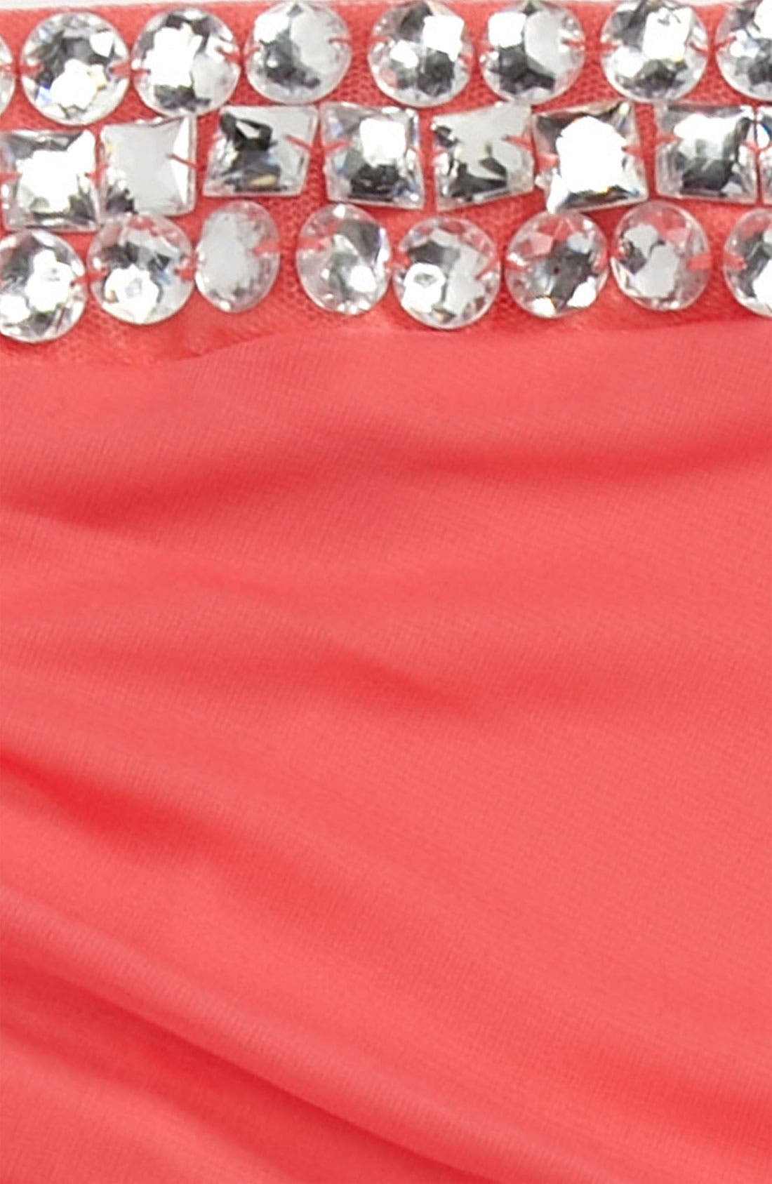 Alternate Image 2  - Roxette Rhinestone Dress (Big Girls)