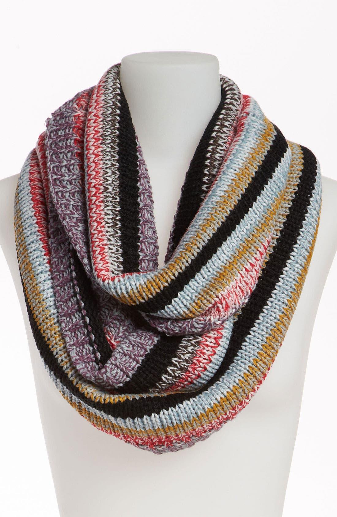 Alternate Image 1 Selected - BP. Stripe Knit Infinity Scarf