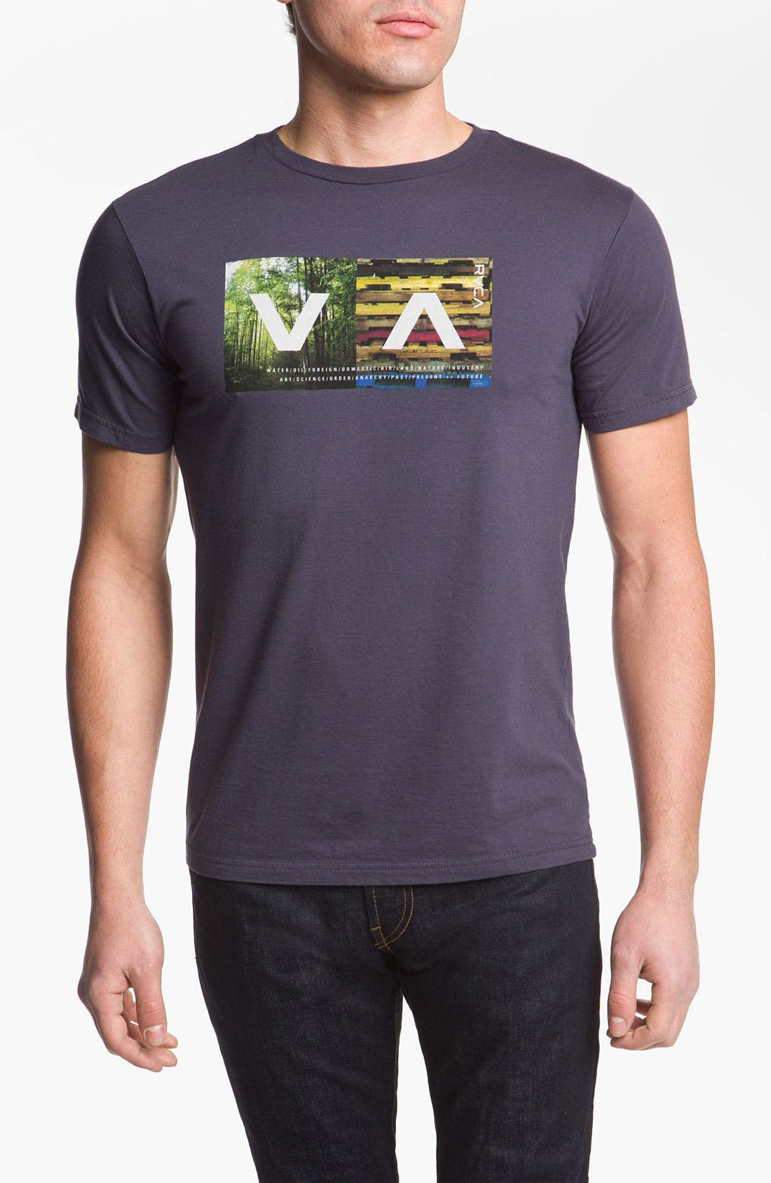 Alternate Image 1 Selected - RVCA 'The Woods' Graphic T-Shirt
