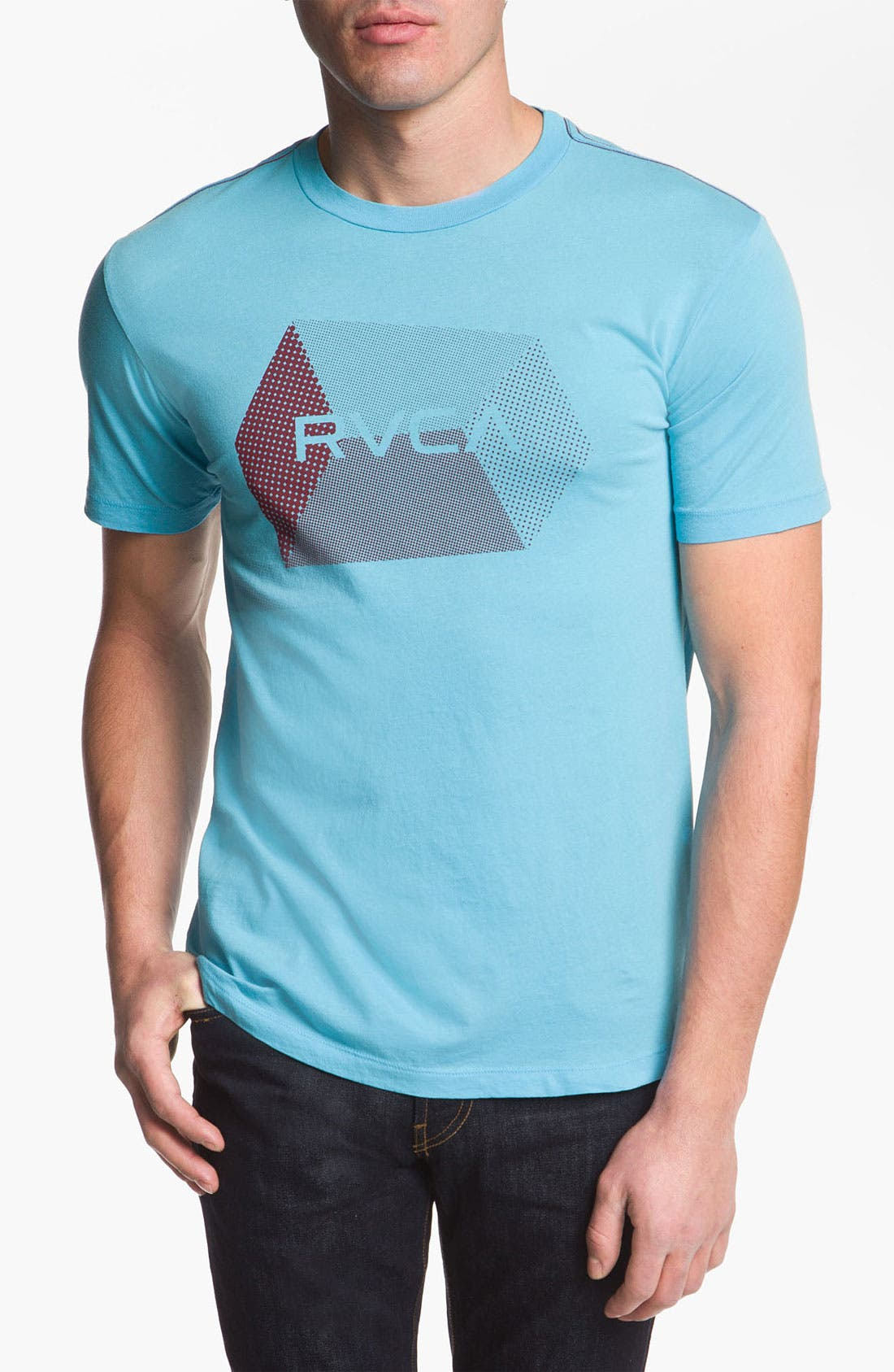 Alternate Image 1 Selected - RVCA 'Polygon Hex' Graphic T-Shirt