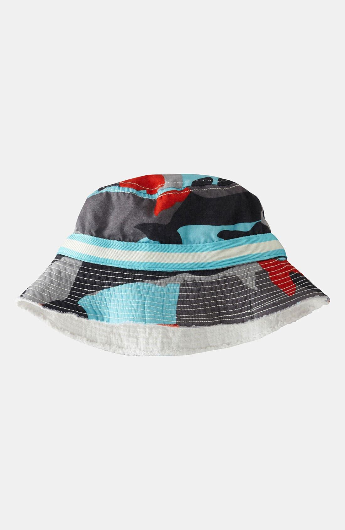 Main Image - Mini Boden Fisherman's Hat (Big Boys)