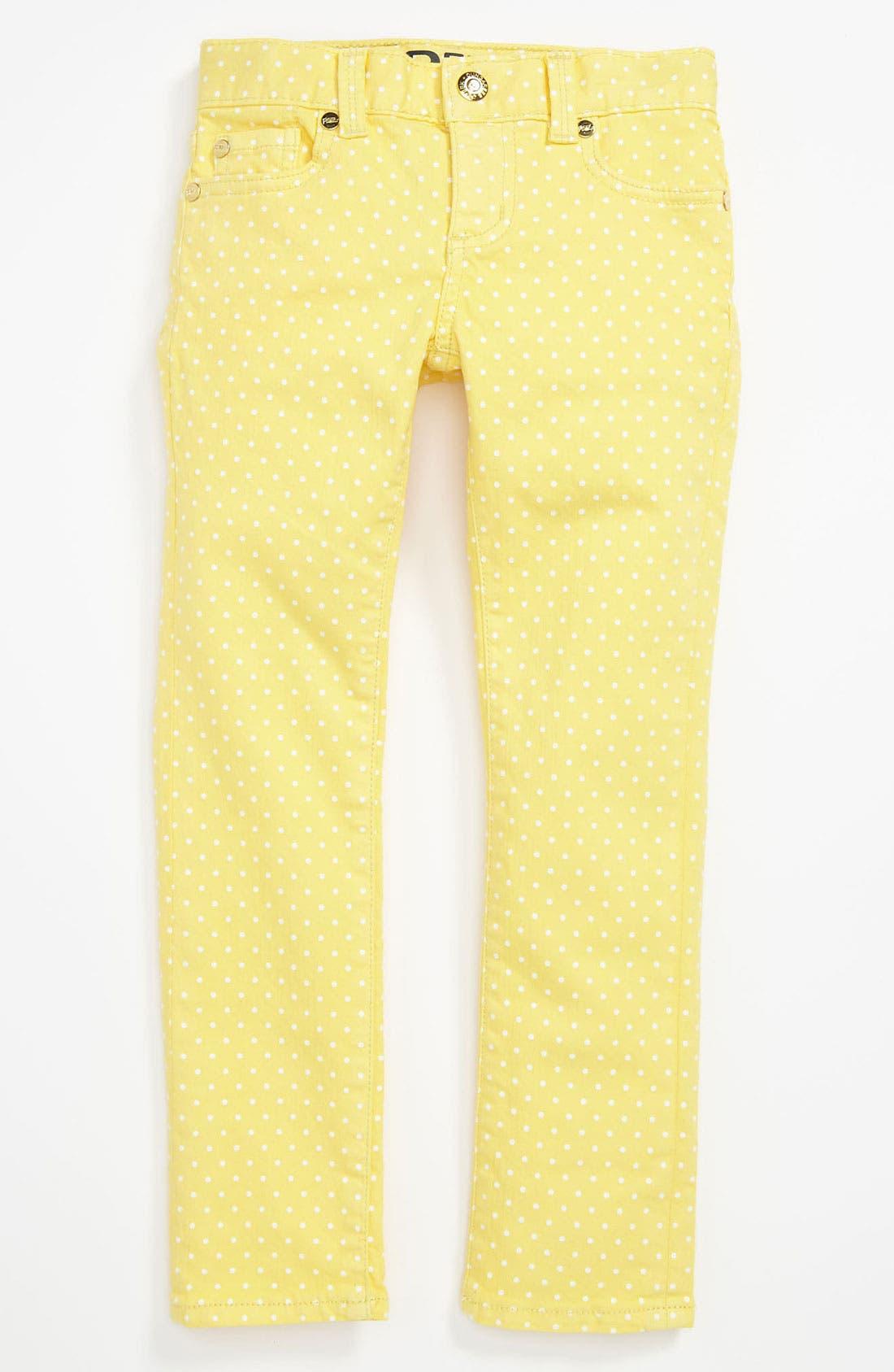 Alternate Image 2  - Peek 'Audrey' Jeans (Toddler, Little Girls & Big Girls)