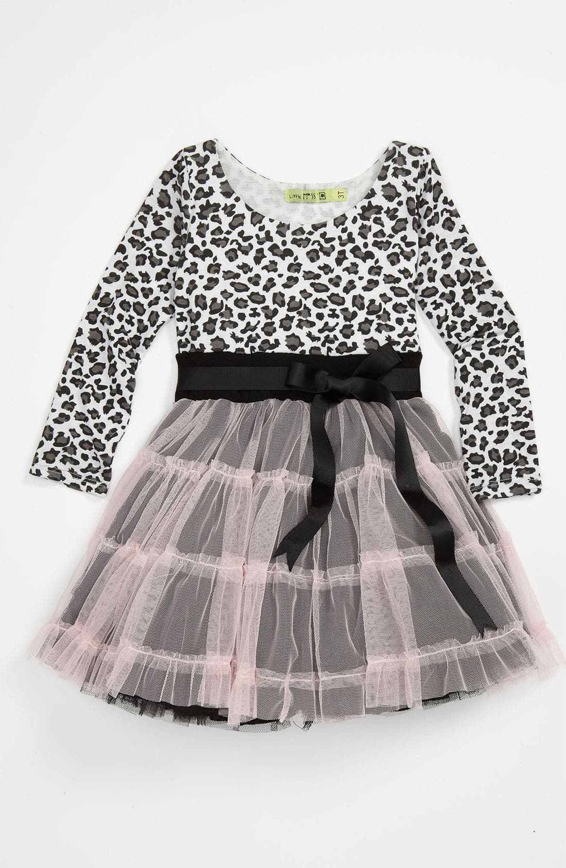 Main Image - Little Mass 'Le Petit Chat' Dress (Toddler)
