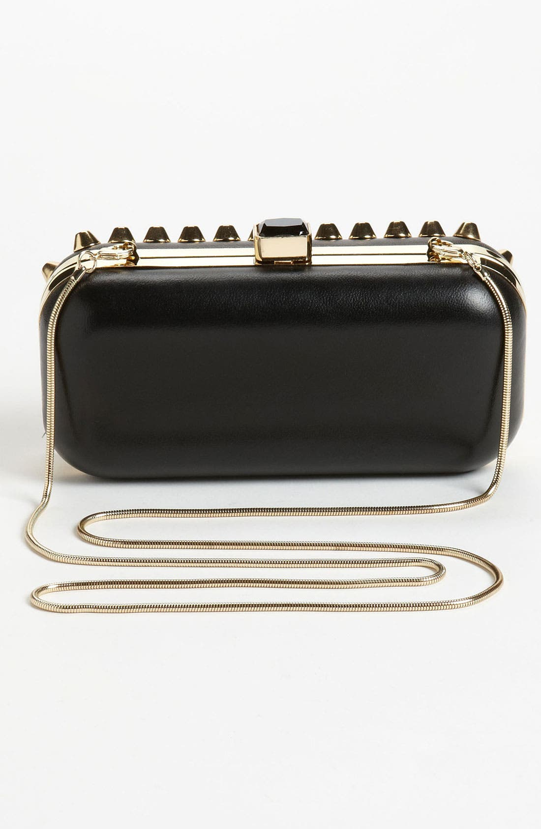 Alternate Image 4  - Natasha Couture Studded Clutch