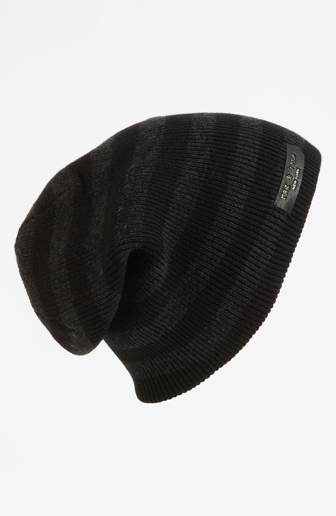 Main Image - rag & bone 'Bamburg' Reversible Beanie