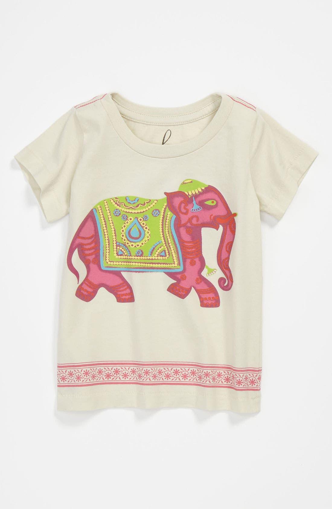 Main Image - Peek 'Elephant' Tee (Infant)