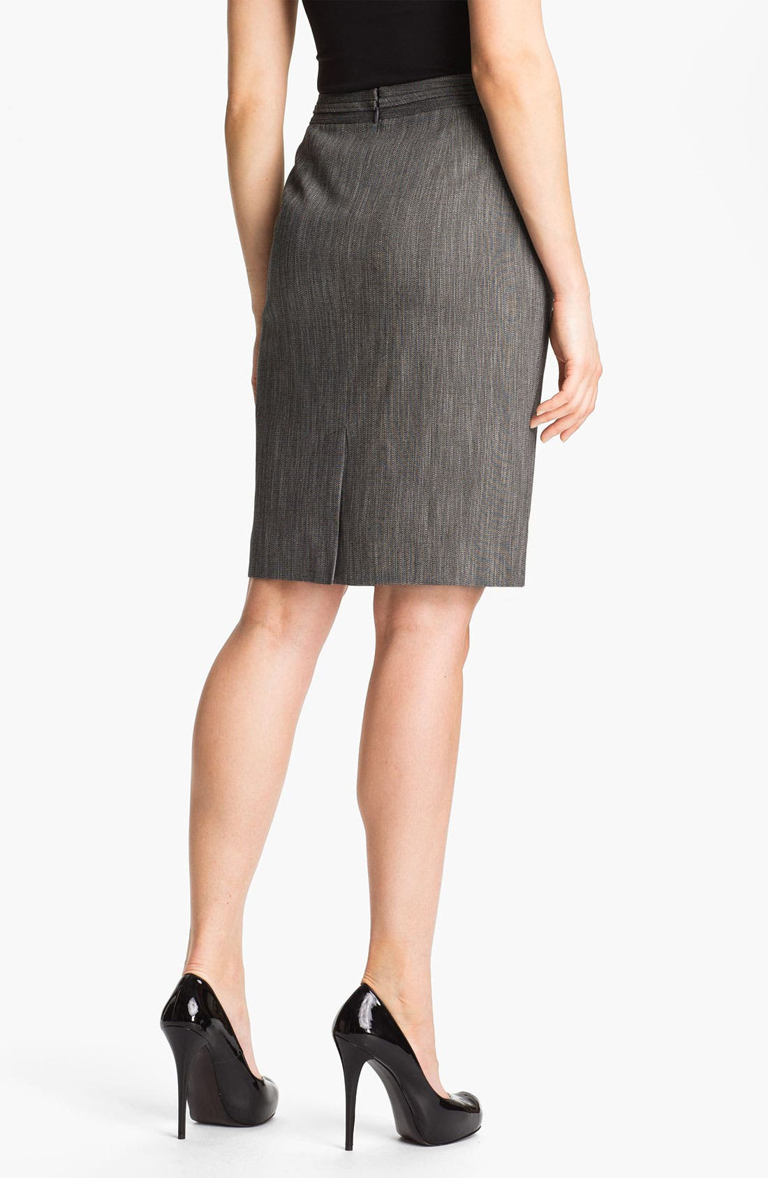 Alternate Image 2  - Classiques Entier® 'Speckled Weave' Skirt