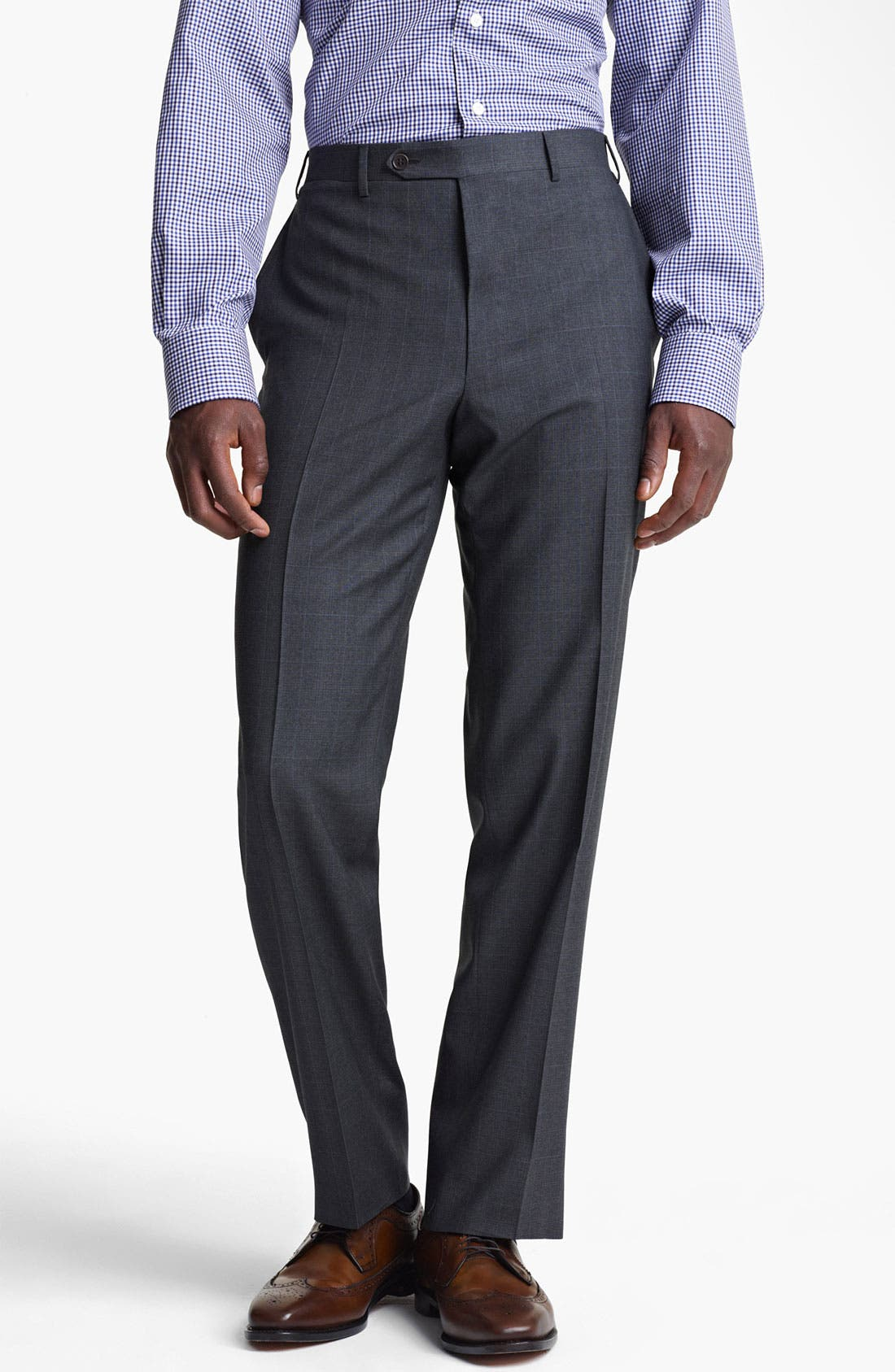 Alternate Image 4  - Canali Plaid Wool Suit