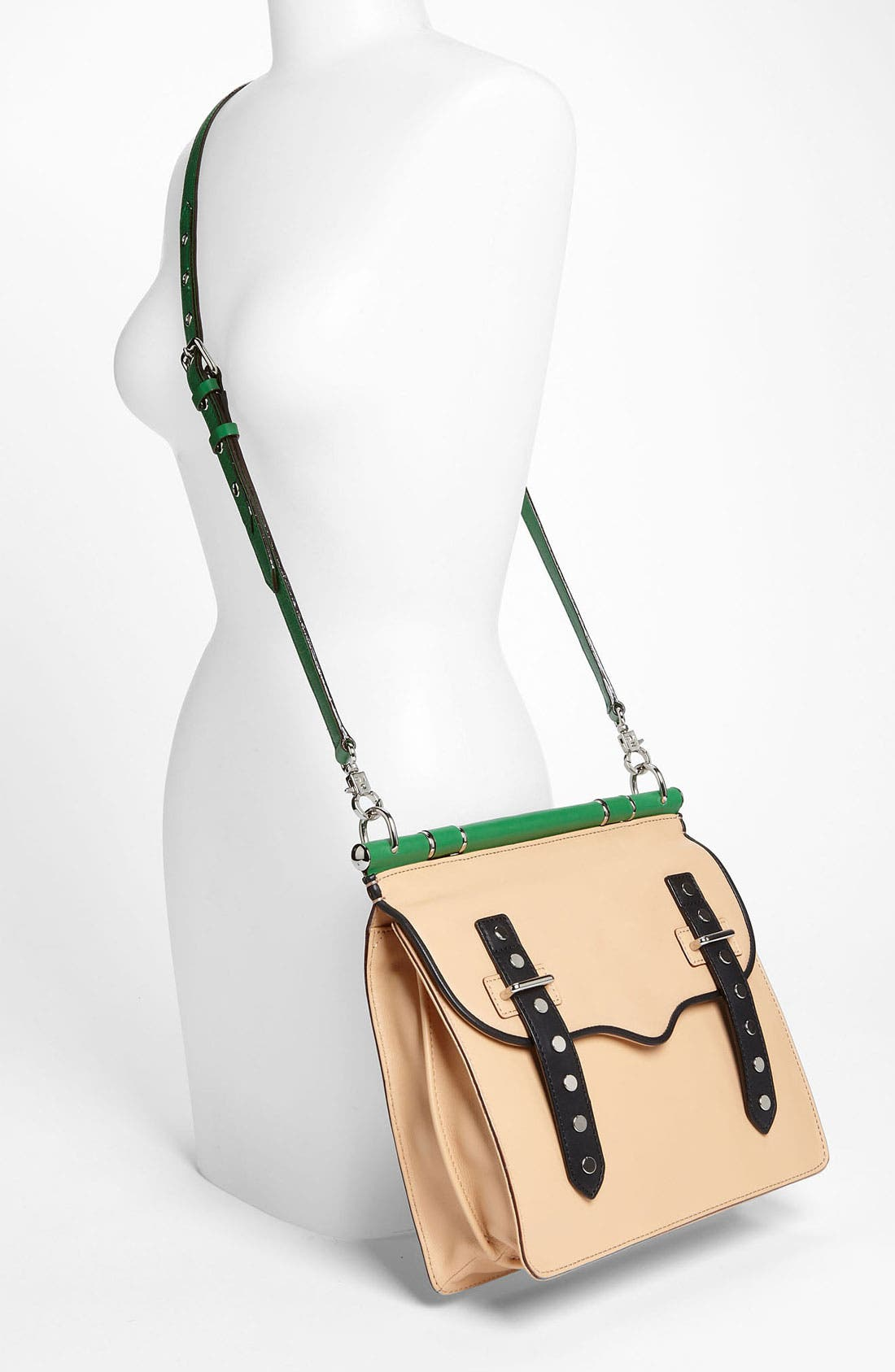 Alternate Image 2  - Rebecca Minkoff 'Brett' Colorblock Satchel