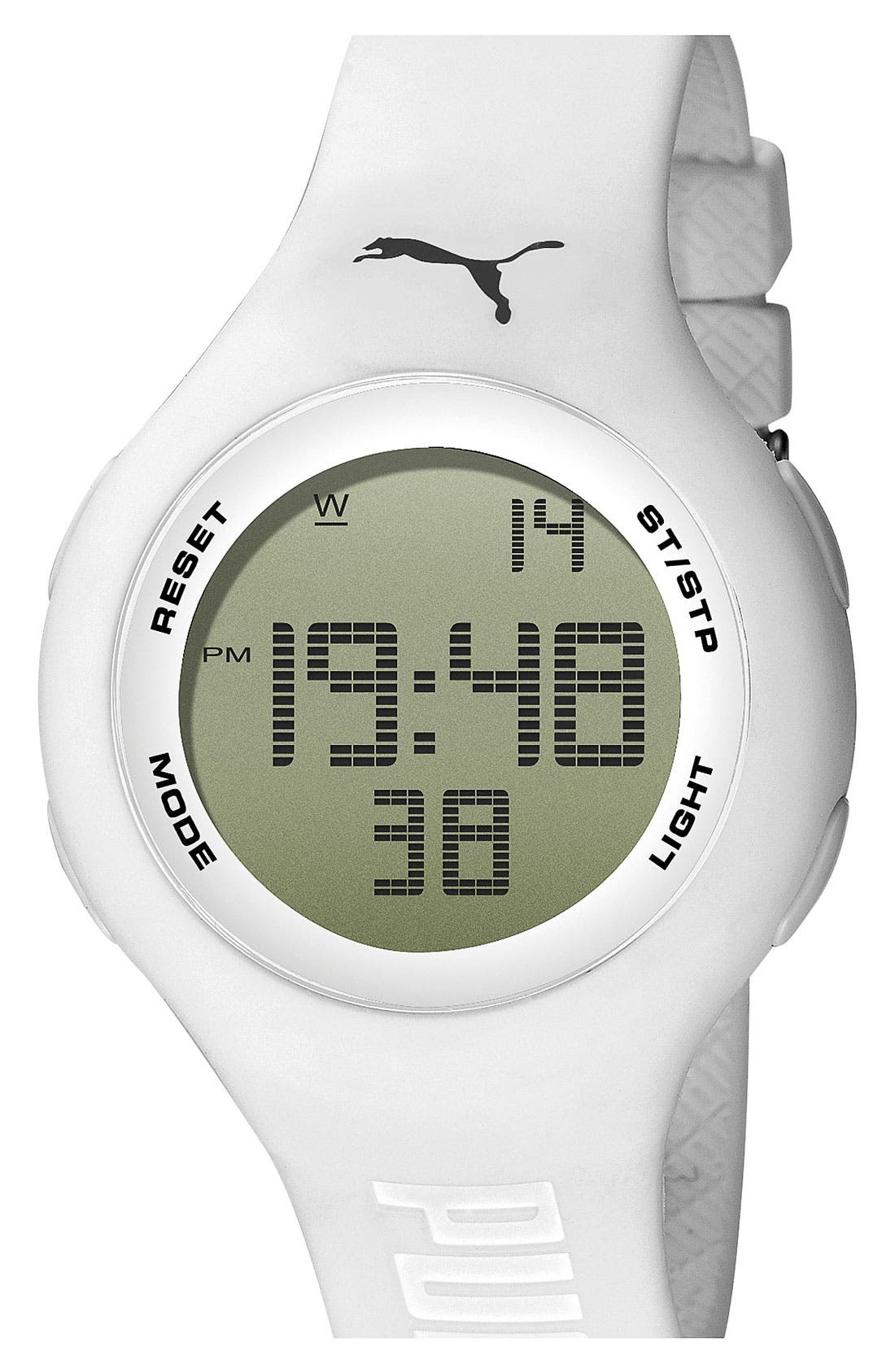 Alternate Image 1 Selected - PUMA 'Loop' Digital Chronograph Watch, 44mm