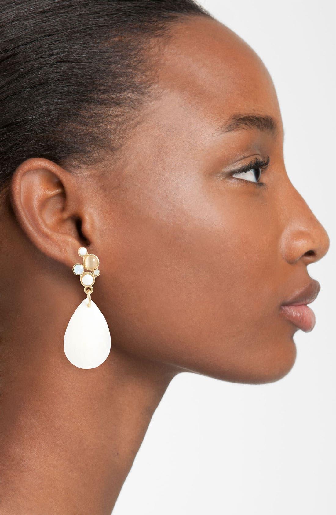Alternate Image 2  - Nordstrom 'Santorini' Teardrop Earrings