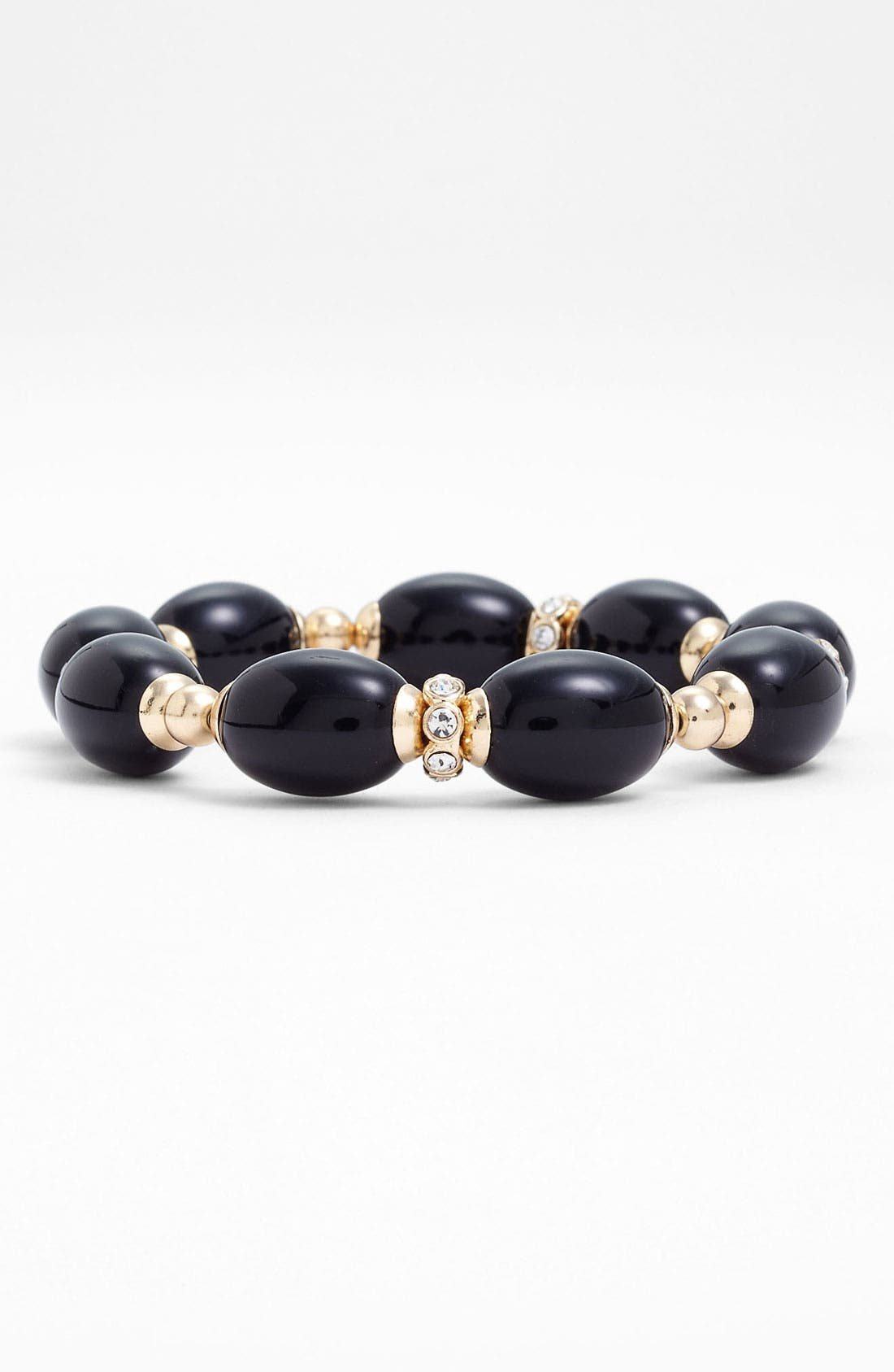 Alternate Image 1 Selected - Anne Klein 'Alder' Stretch Bracelet