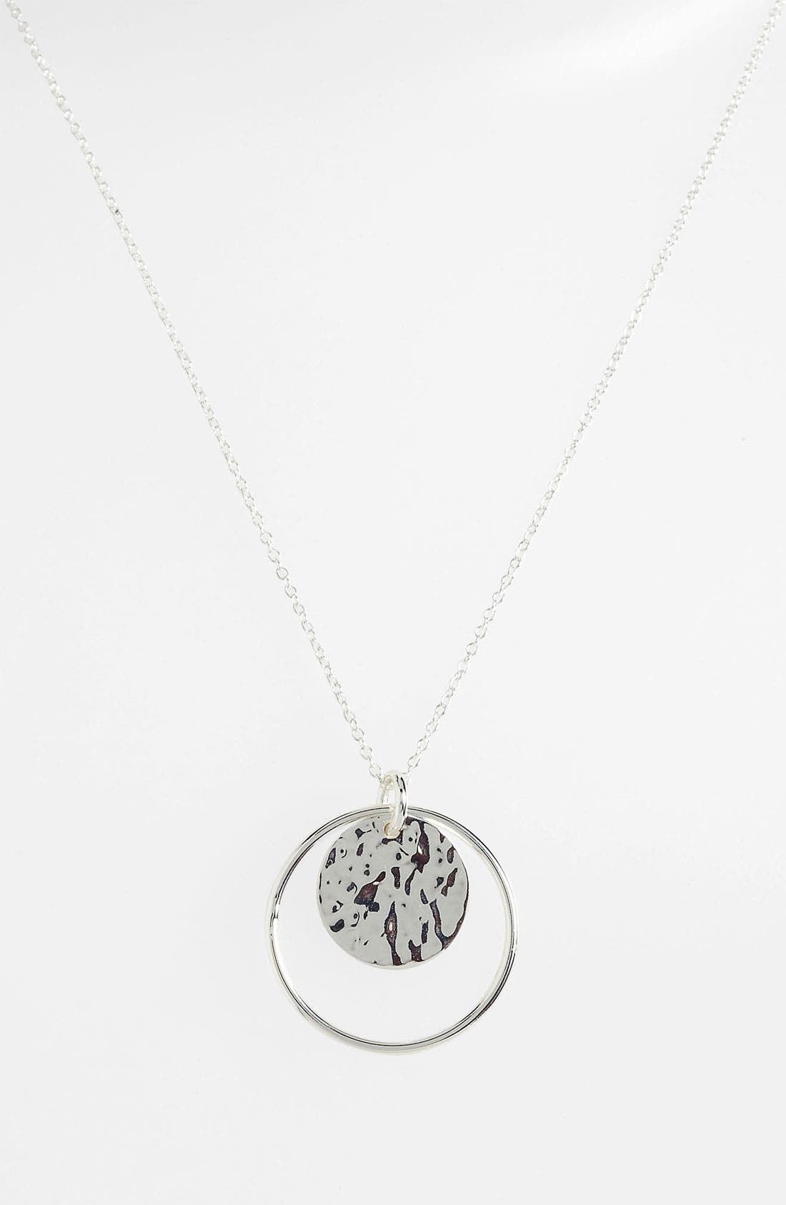 Alternate Image 2  - Argento Vivo Pendant Necklace (Nordstrom Exclusive)