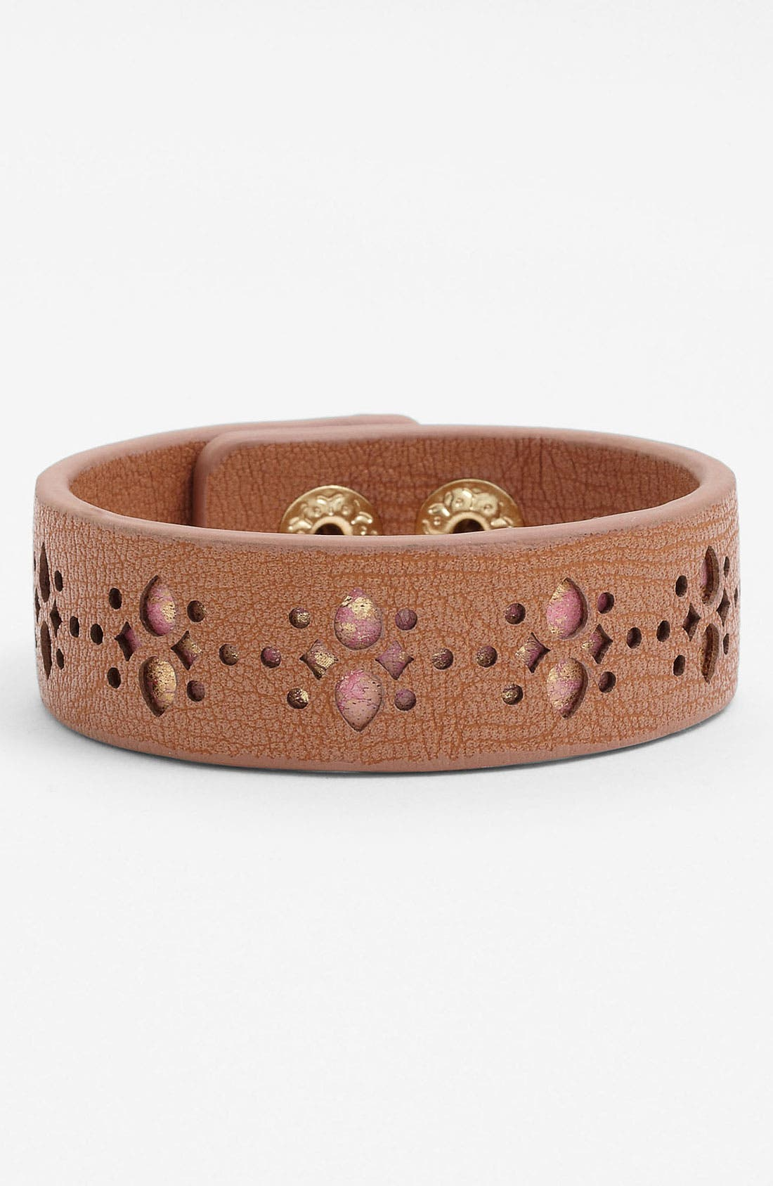Main Image - Jessica Simpson 'Snake My Hand' Wrap Bracelet