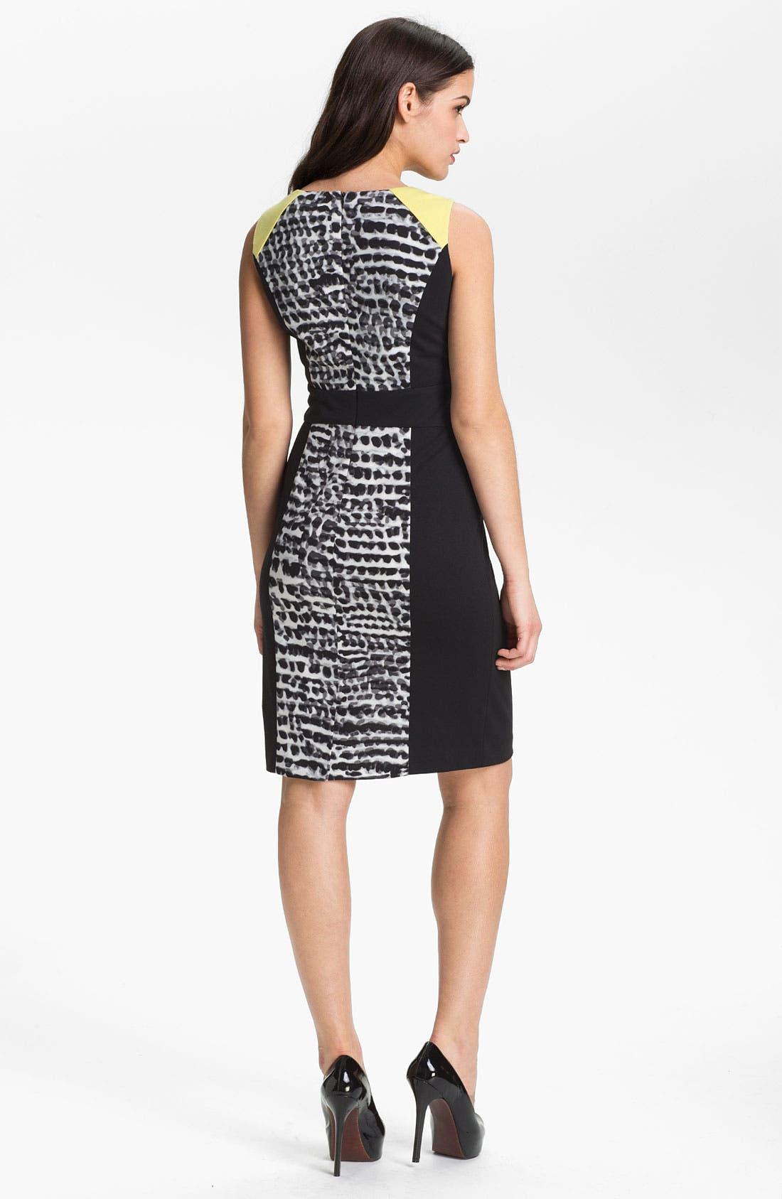 Alternate Image 2  - Calvin Klein Sleeveless Dress