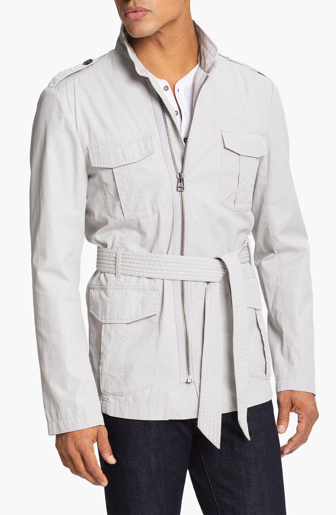 Alternate Image 1 Selected - adidas SLVR Field Jacket