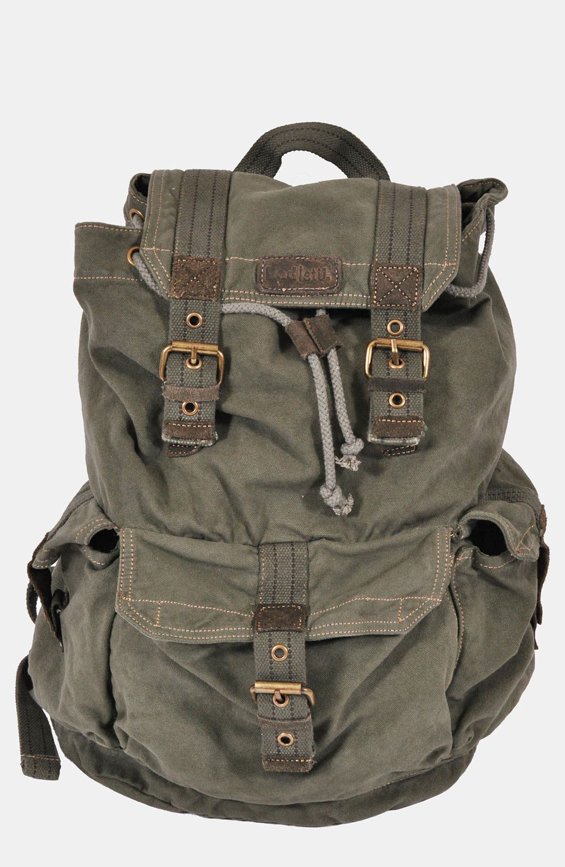 Alternate Image 1 Selected - Bed Stu 'Ohara' Washed Canvas Backpack