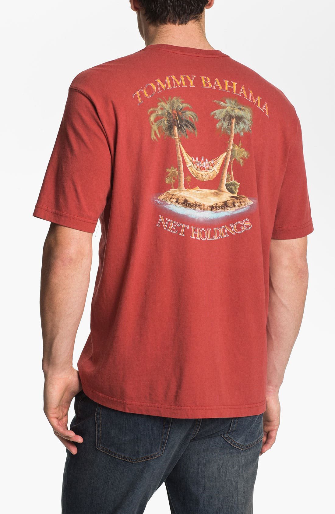 Alternate Image 1 Selected - Tommy Bahama 'Net Holdings' T-Shirt