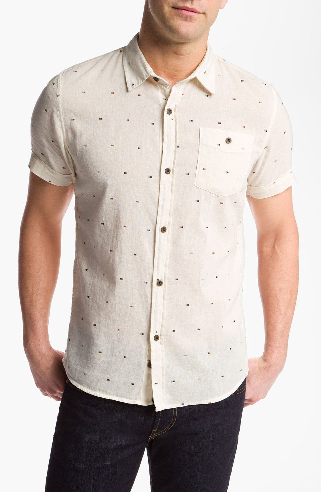 Alternate Image 1 Selected - Zanerobe 'Miami' Linen Shirt