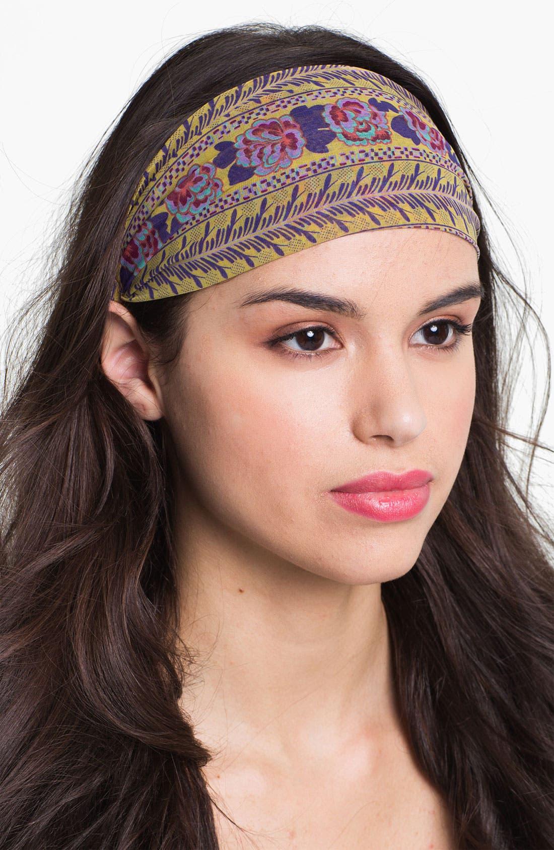Alternate Image 1 Selected - Tasha 'Floral Border' Head Wrap