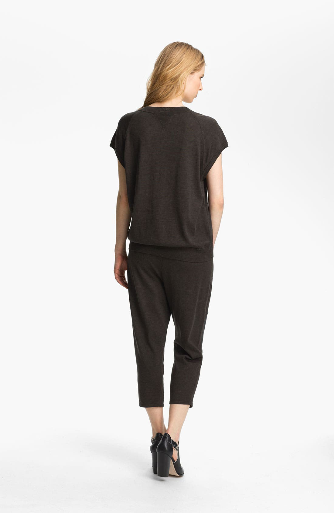 Alternate Image 4  - Theyskens' Theory 'Knug Yora' Short Sleeve Sweater