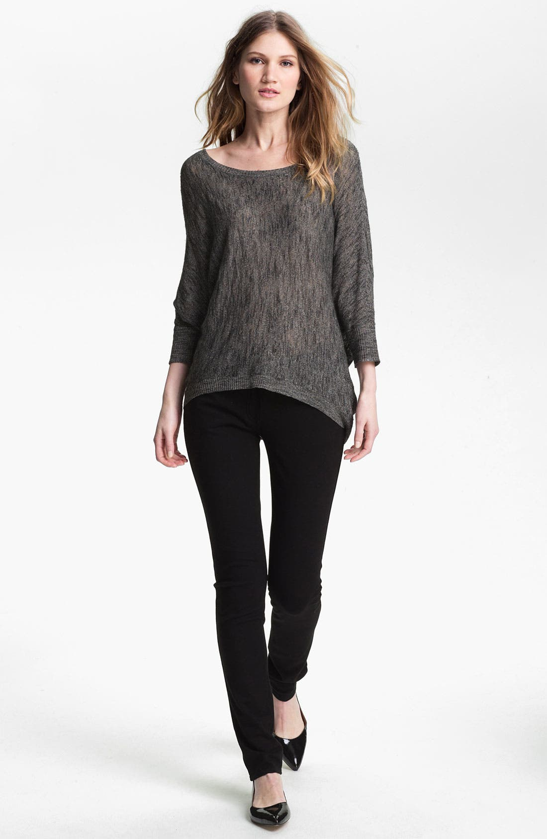 Alternate Image 4  - Eileen Fisher Bateau Neck Sweater (Online Exclusive)