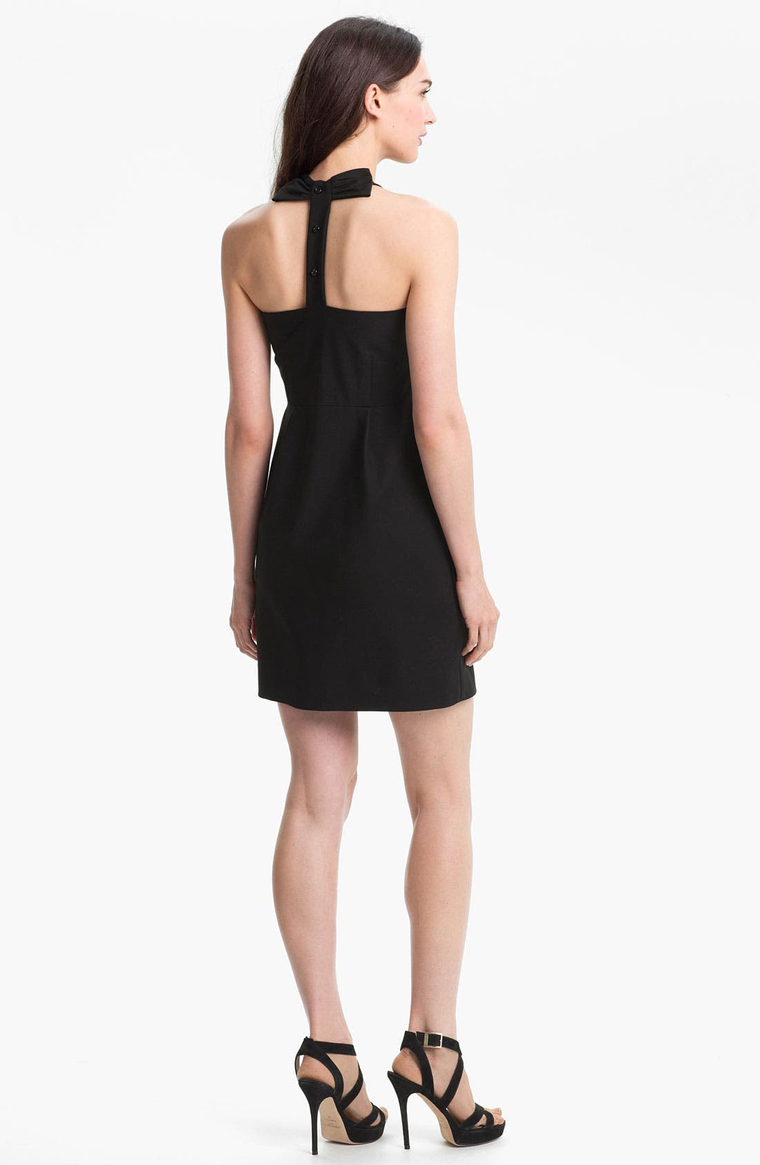 Alternate Image 2  - kate spade new york 'billie' cotton blend fit & flare dress