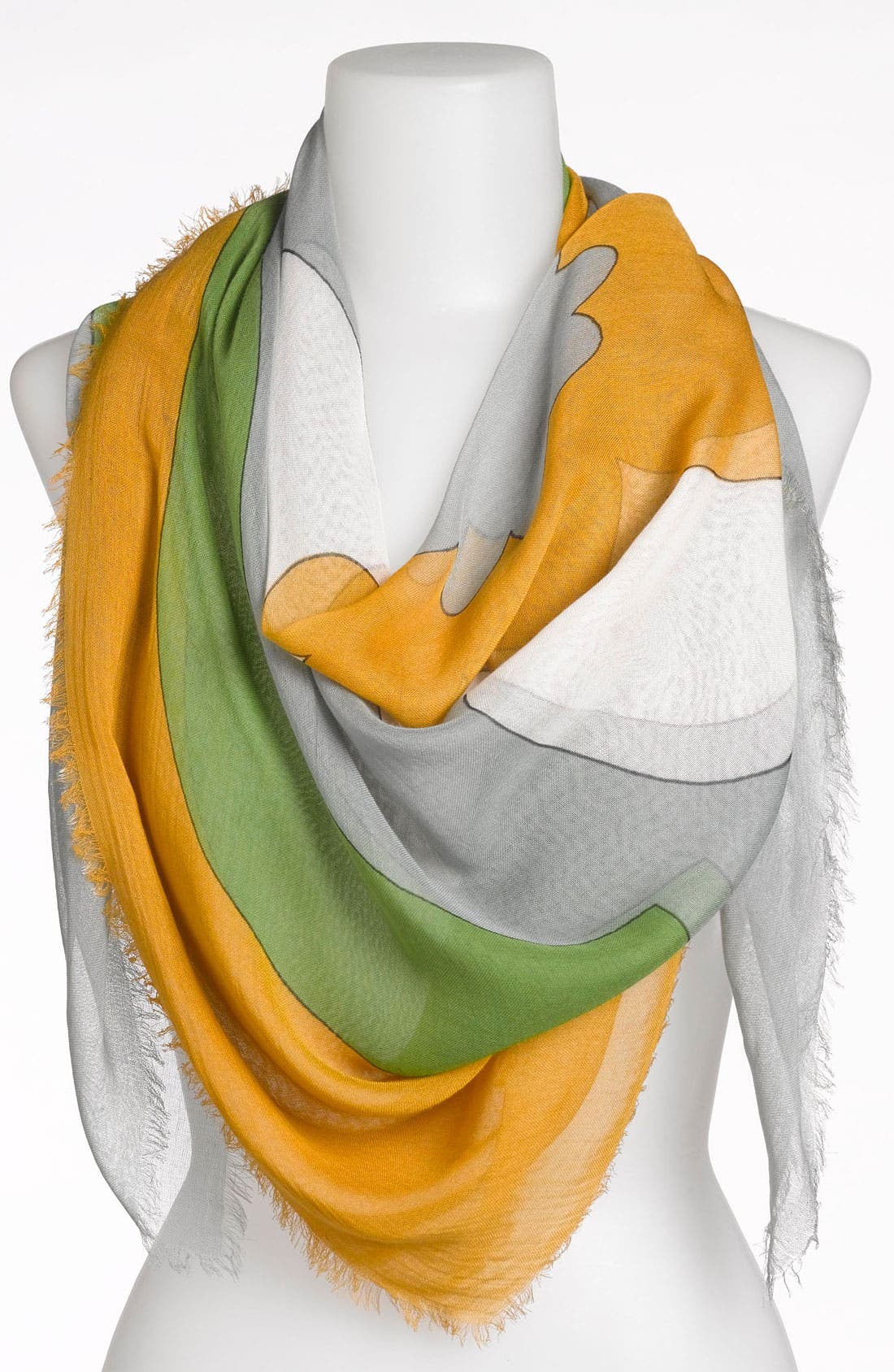 Main Image - Jonathan Adler 'Retro Floral' Oversized Scarf