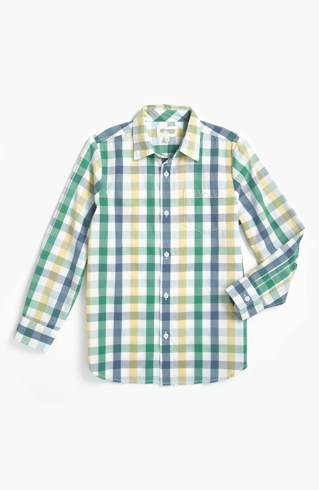 Alternate Image 1 Selected - Tucker + Tate 'Allister' Poplin Shirt (Big Boys)