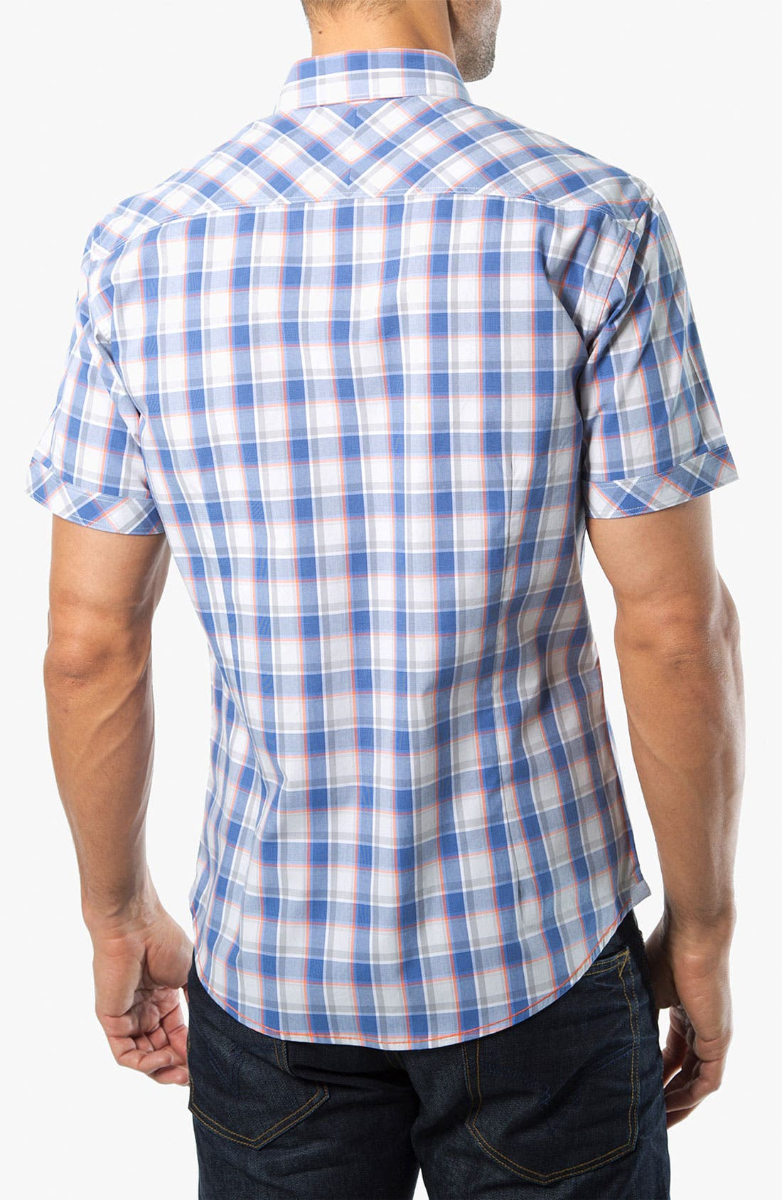Alternate Image 2  - 7 Diamonds 'Always Like This' Plaid Woven Shirt