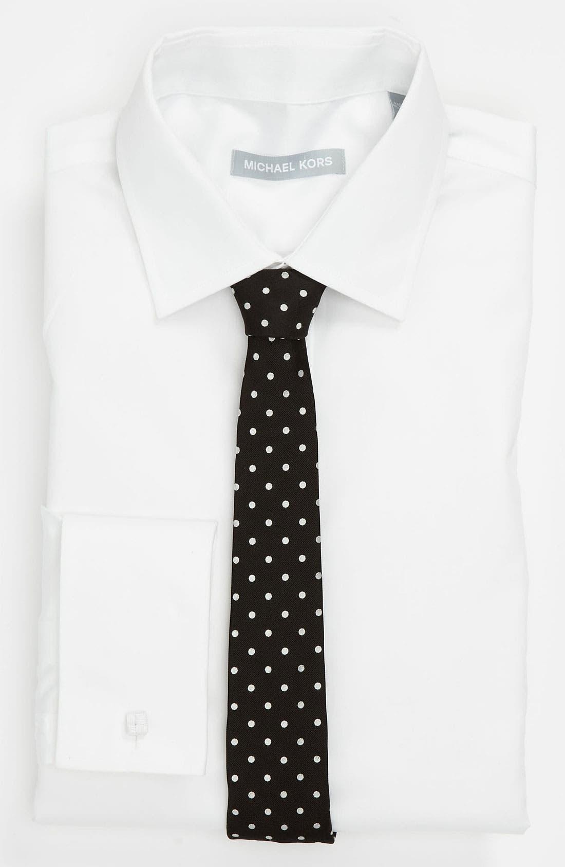 Alternate Image 3  - Dolce&Gabbana Woven Silk Tie