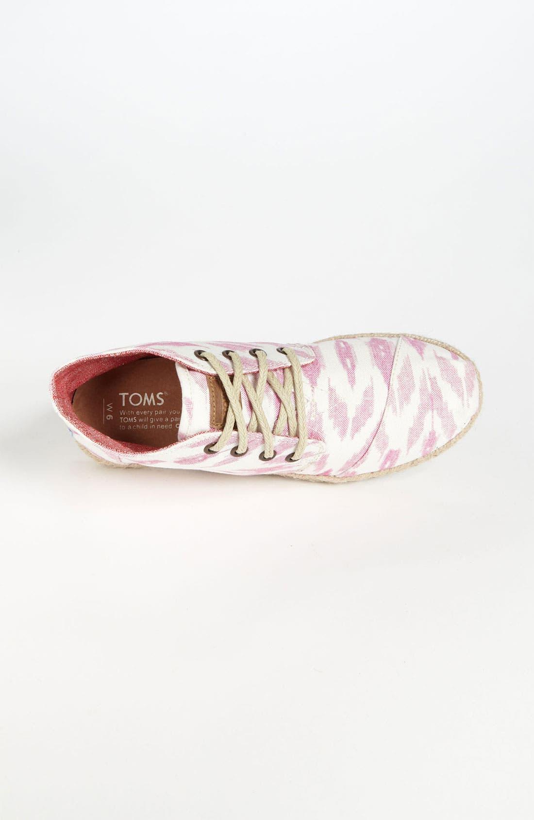 Alternate Image 3  - TOMS 'Botas Desert  - Ikat' Boot (Women)