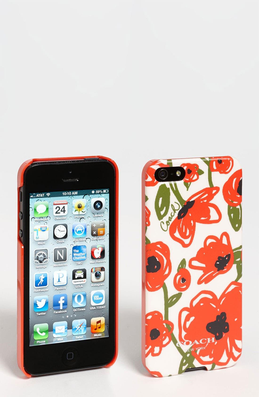 Main Image - COACH 'Pop Floral' iPhone 5 Case