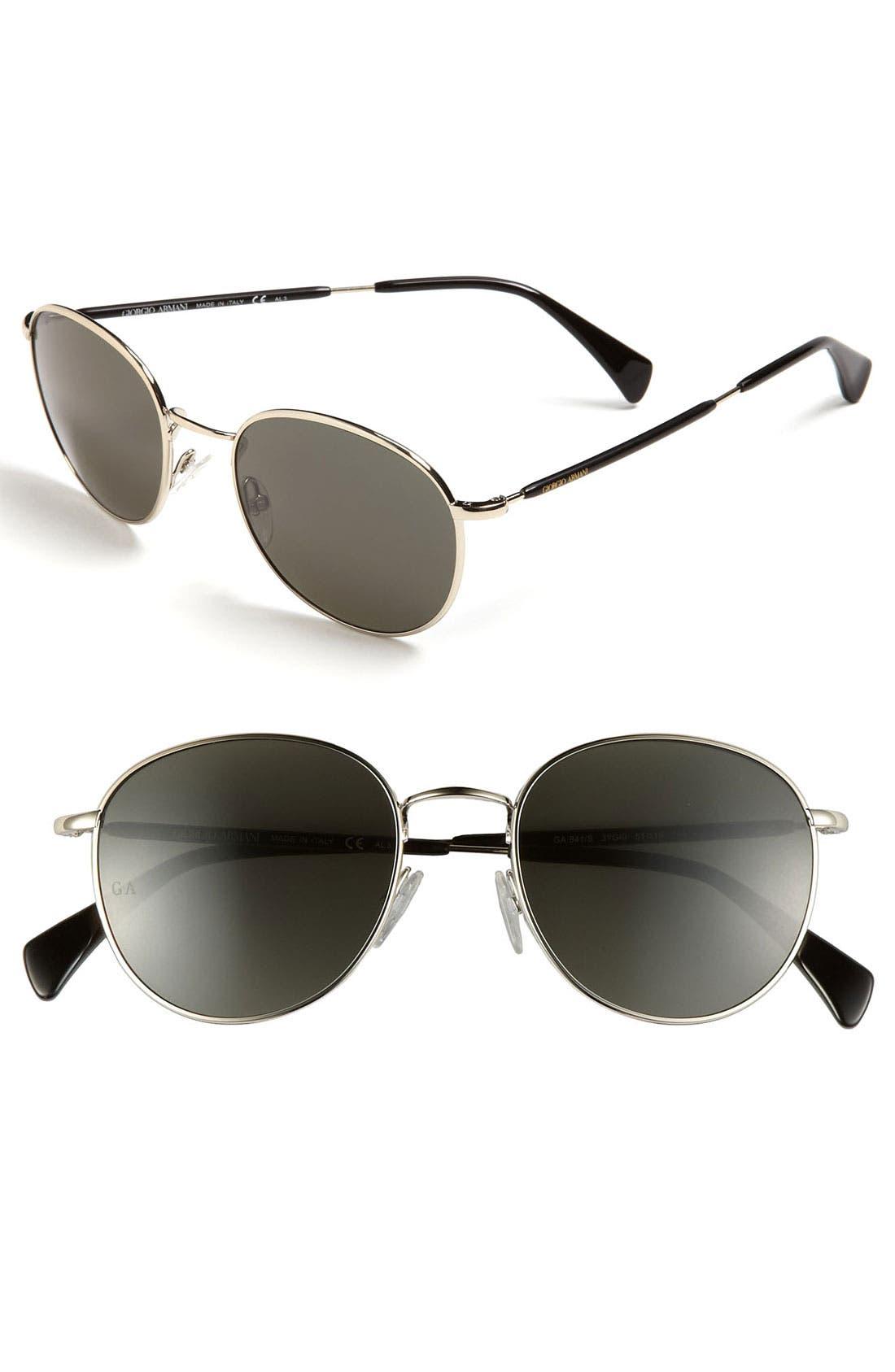 Main Image - Giorgio Armani Round Sunglasses