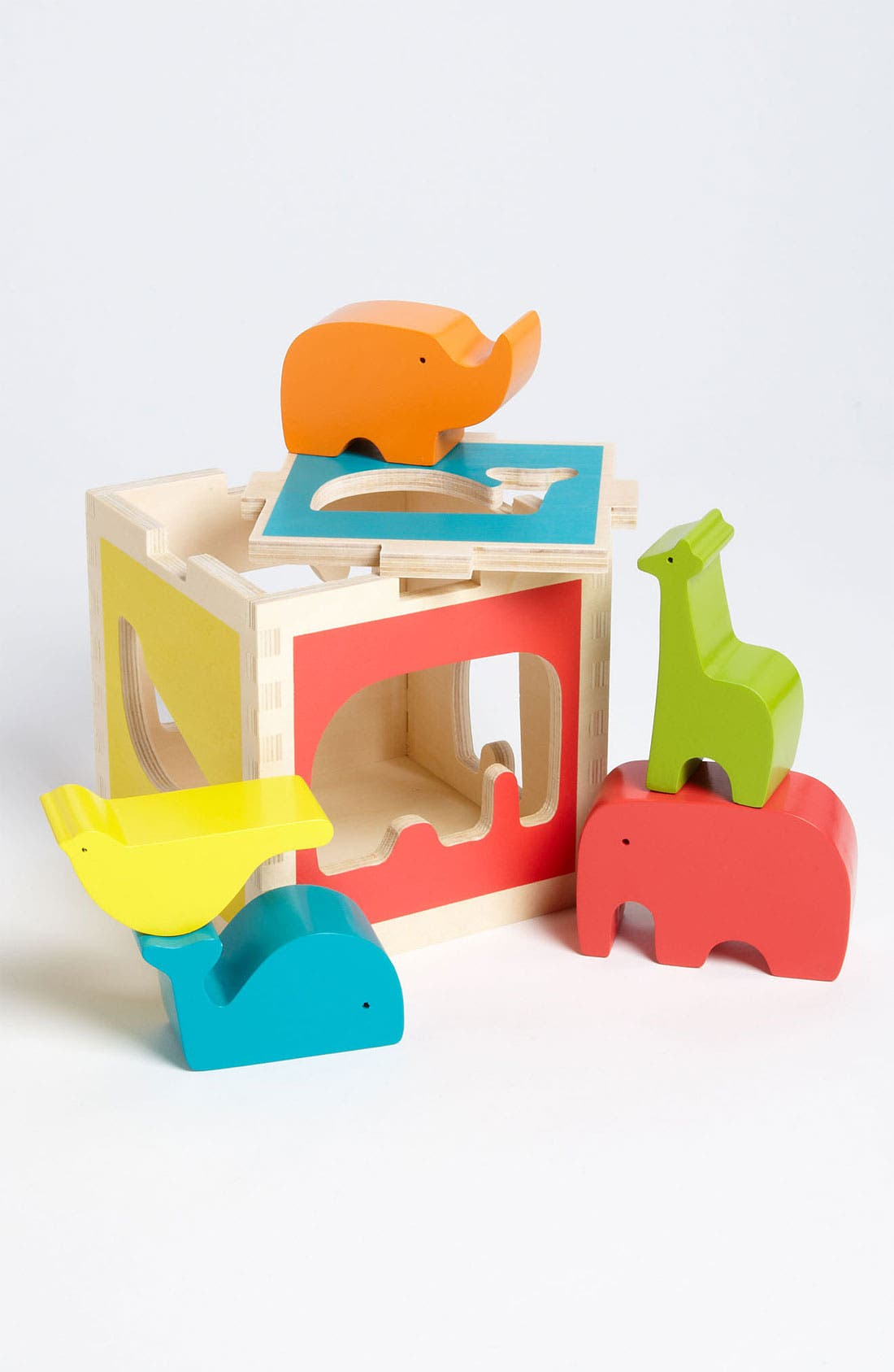 Alternate Image 1 Selected - DwellStudio 'Zoo' Shape Sorter