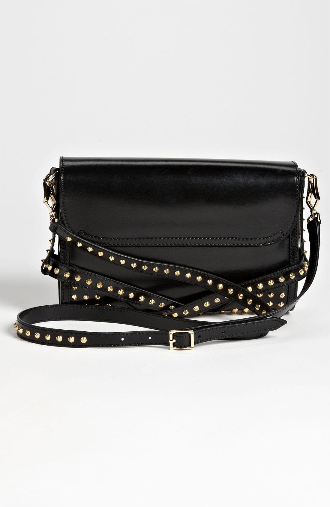 Alternate Image 4  - Burberry 'Bridle Studs' Leather Crossbody Bag