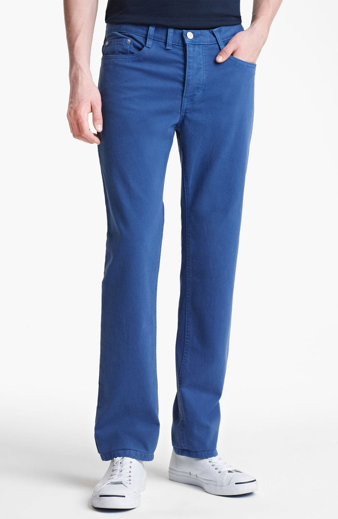 Alternate Image 1 Selected - Shipley & Halmos 'Rhodes' Slim Straight Leg Pants