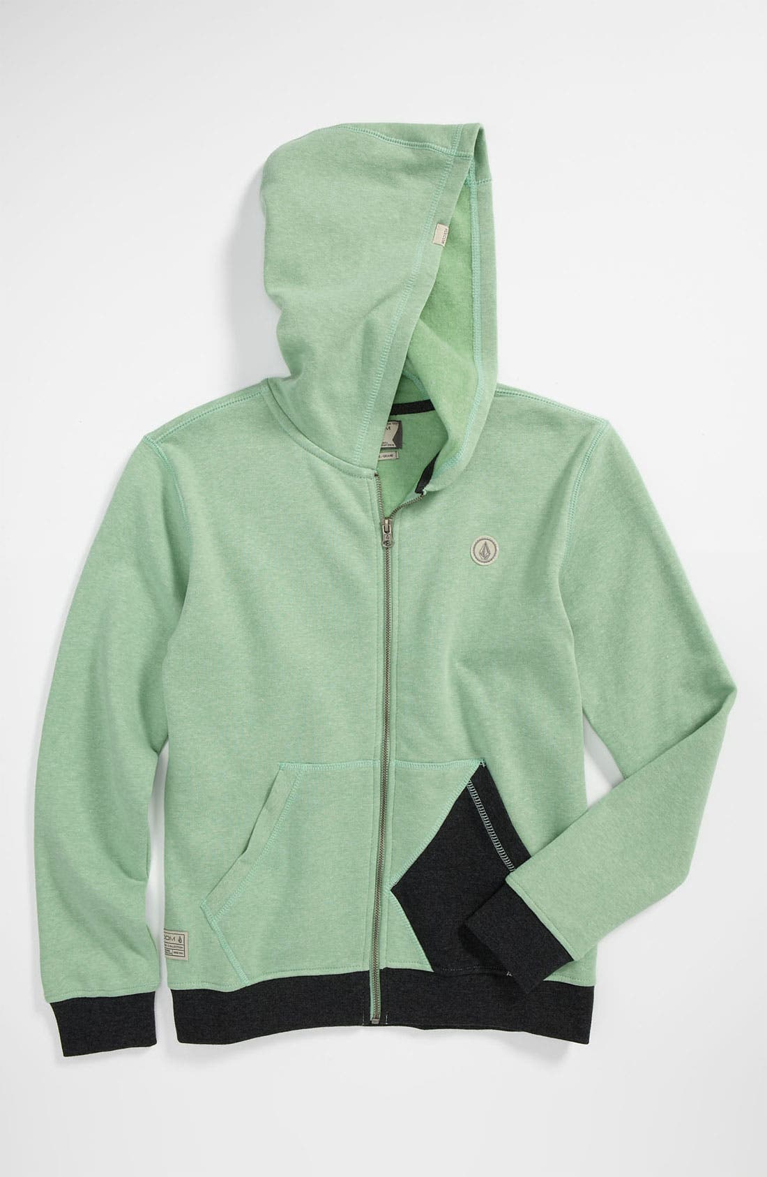 Alternate Image 1 Selected - Volcom 'Sepulveda' Hoodie (Big Boys)
