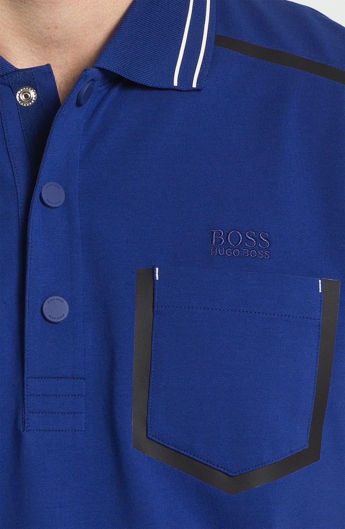 Alternate Image 3  - BOSS Green 'Pango' Modern Fit Polo