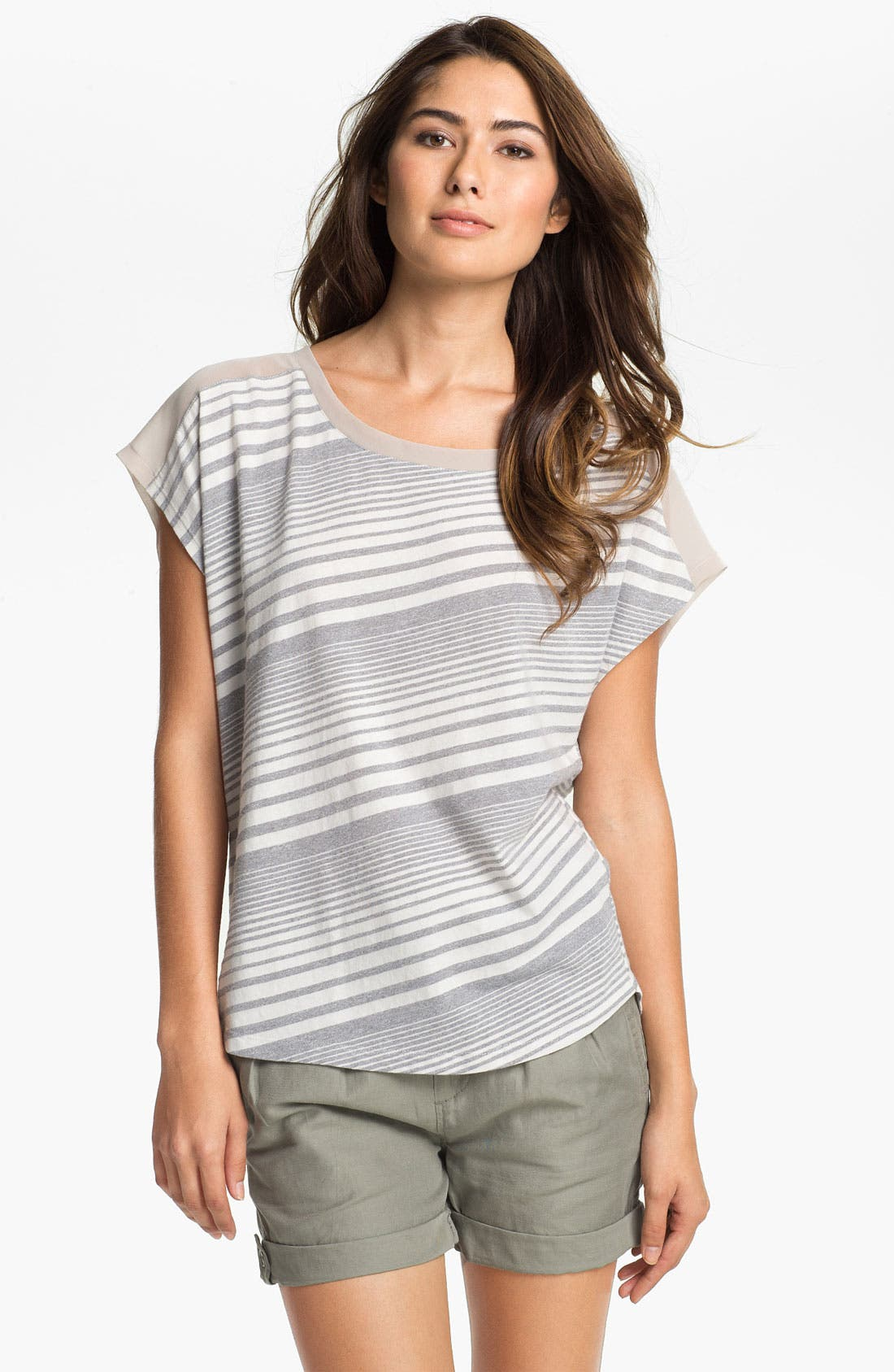 Alternate Image 1 Selected - Two by Vince Camuto Tie Back Tee