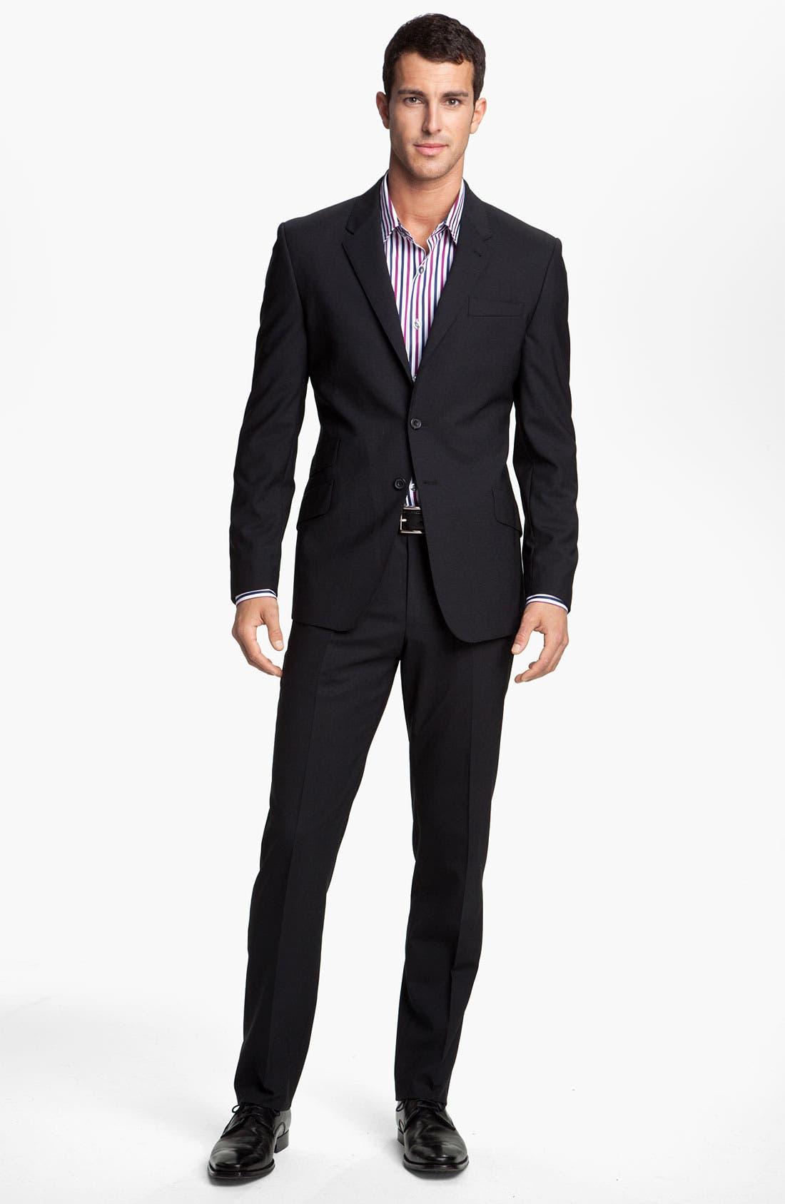 Alternate Image 2  - Paul Smith London Stretch Wool Suit