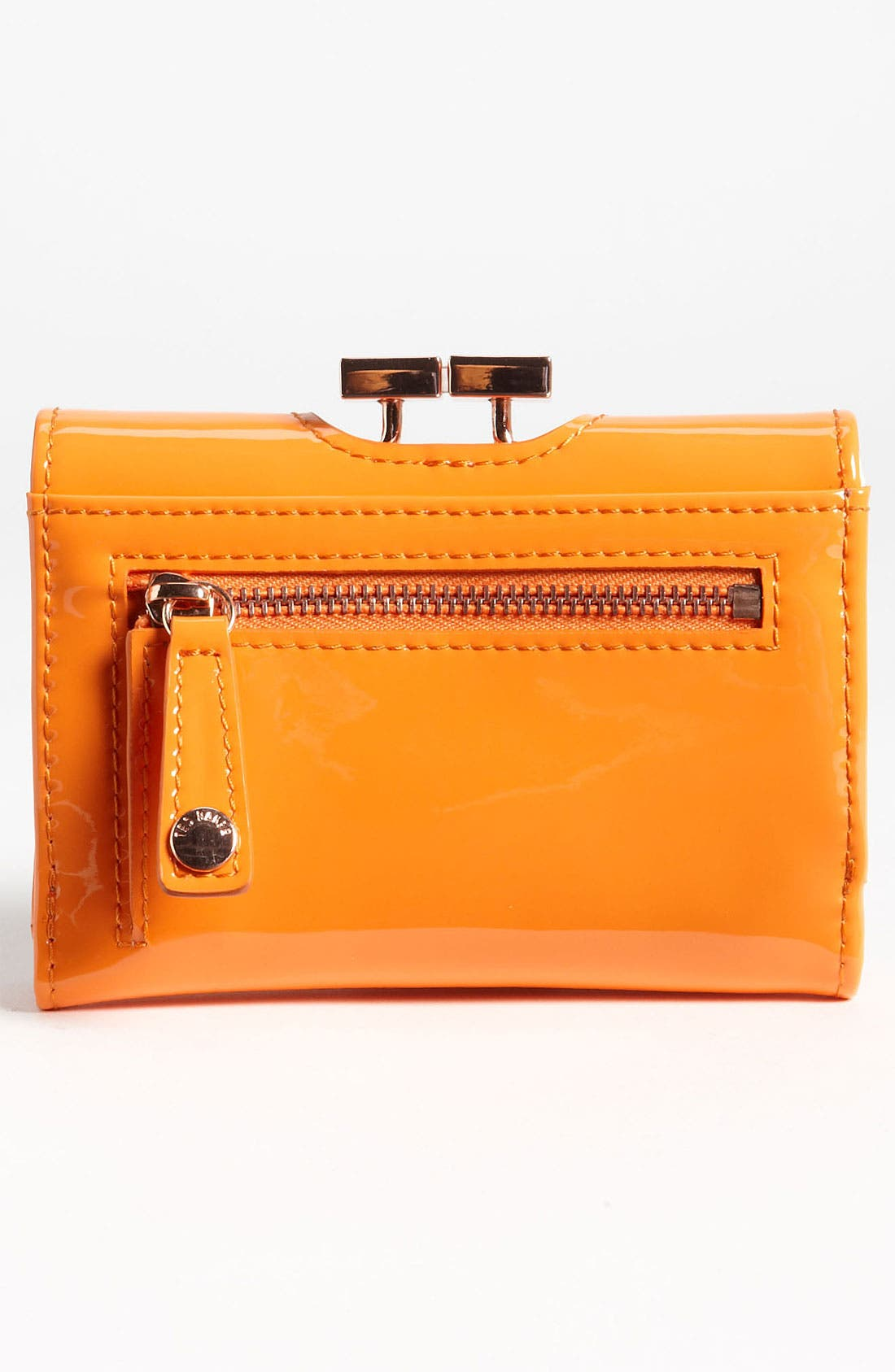 Alternate Image 4  - Ted Baker London 'Small' Patent Leather Wallet