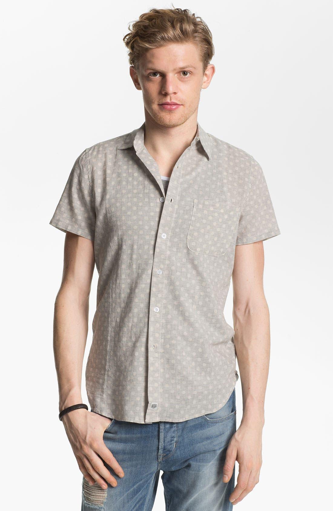 Main Image - Deus Ex Machina 'Billy' Dot Patterned Woven Shirt
