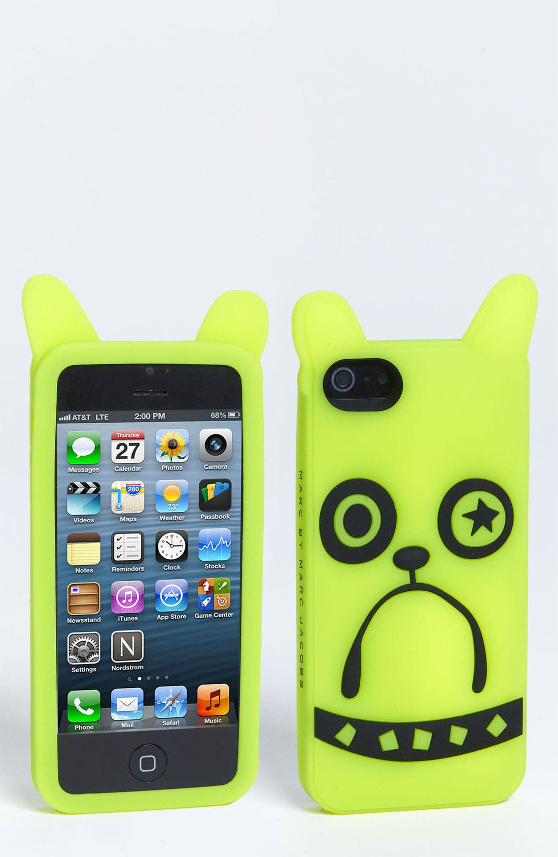 Alternate Image 1 Selected - MARC BY MARC JACOBS 'Pickles the Bulldog' iPhone 5 & 5S Case