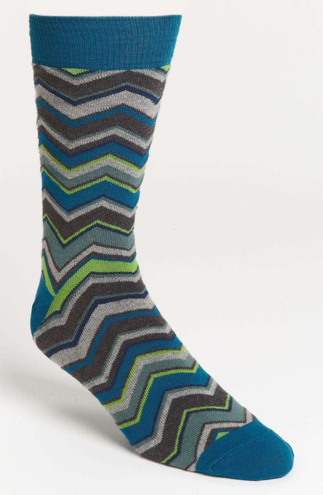 Alternate Image 1 Selected - Pact Zigzag Socks