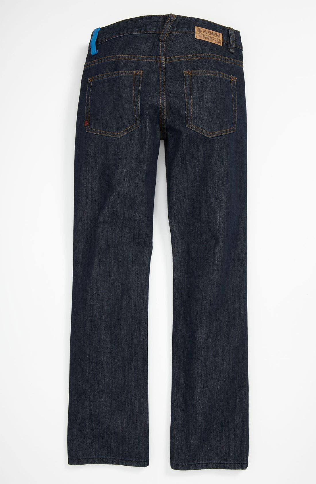 Alternate Image 1 Selected - Element 'Wyatt' Straight Leg Jeans (Big Boys)