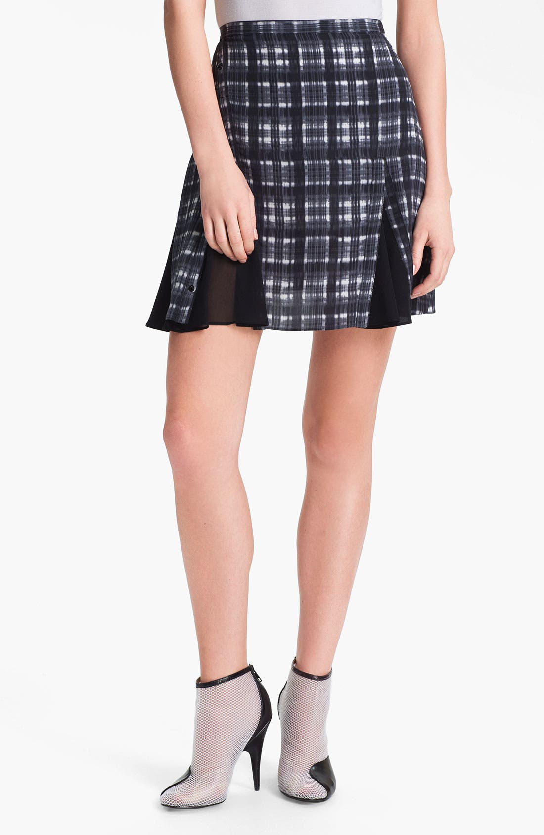 Alternate Image 1 Selected - 3.1 Phillip Lim Print Silk Skirt