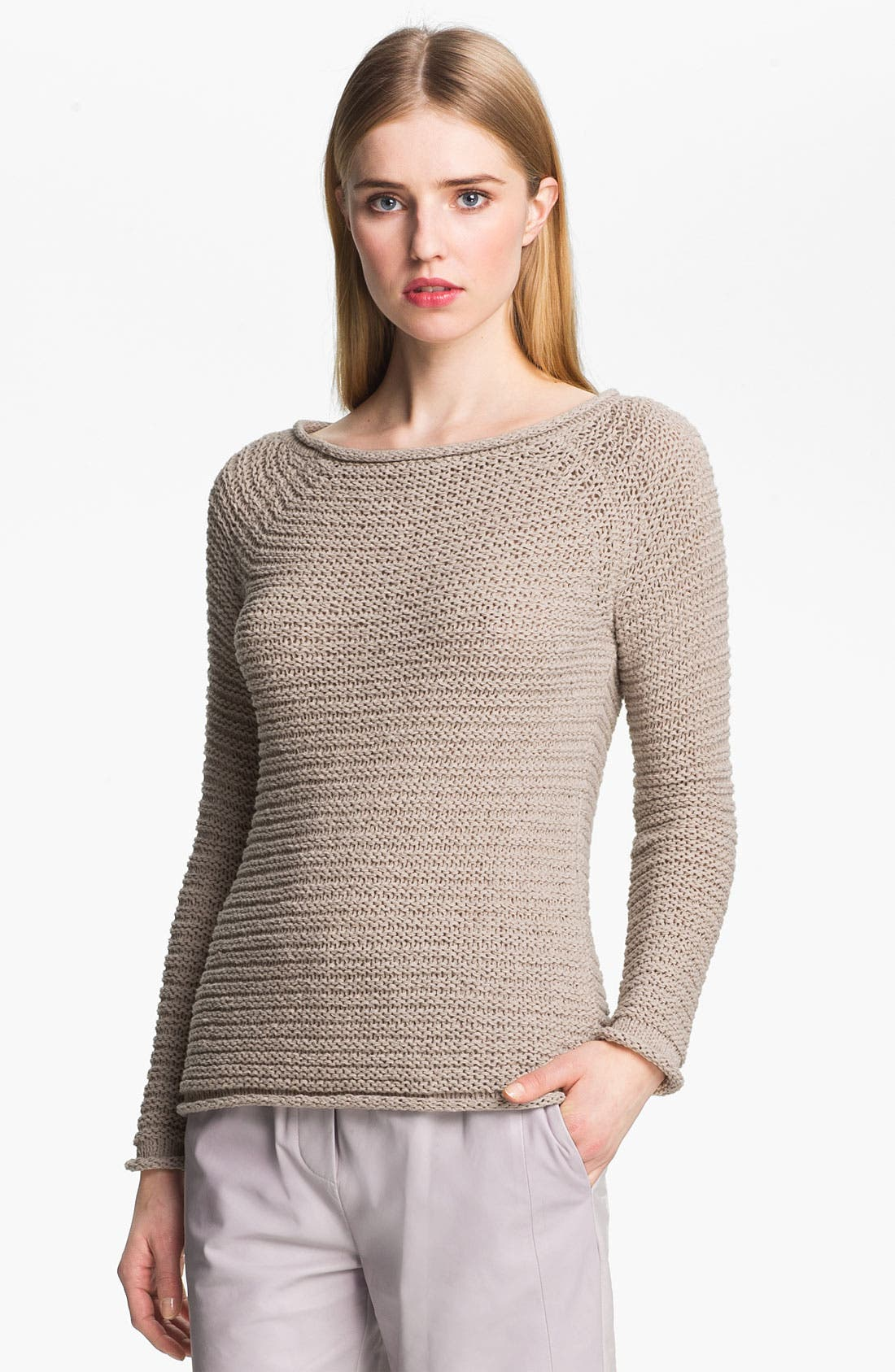 Alternate Image 2  - Halston Heritage Raglan Sweater