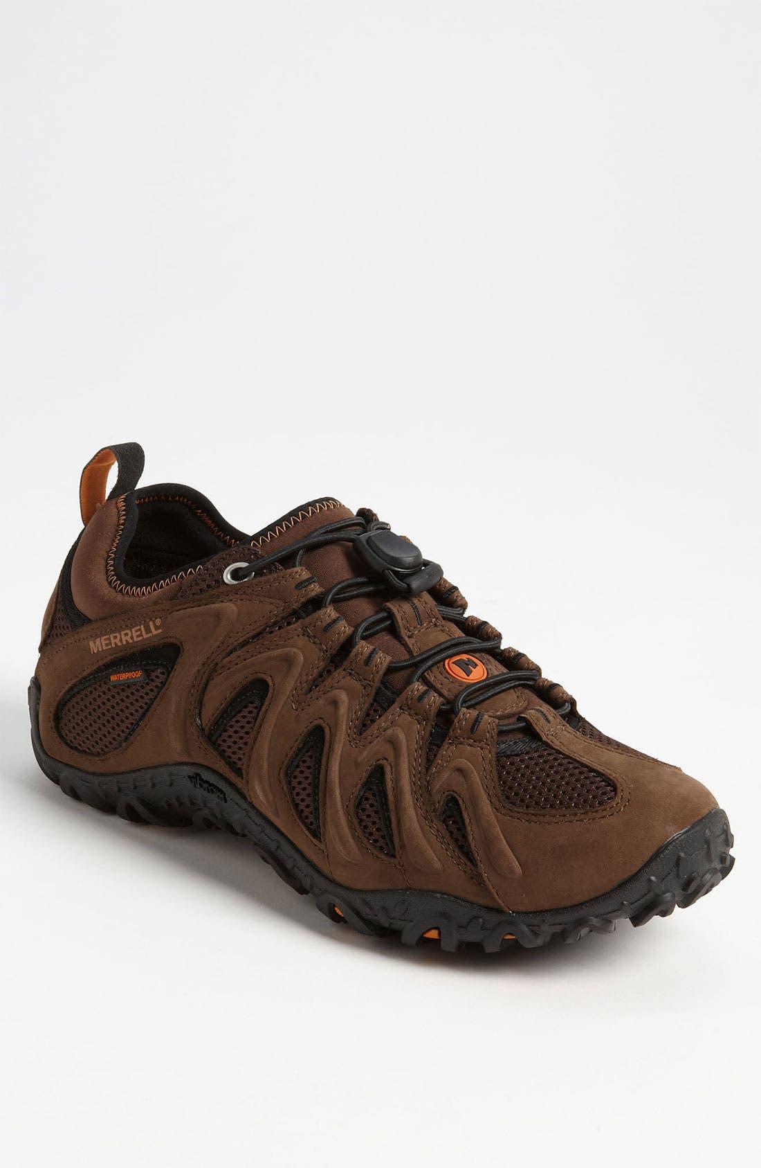 Main Image - Merrell 'Chameleon 4 Stretch' Waterproof Hiking Shoe (Men)